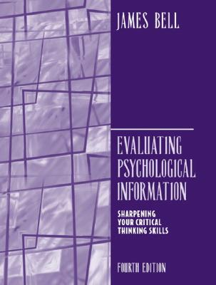 Evaluating Psychological Information By Bell, James